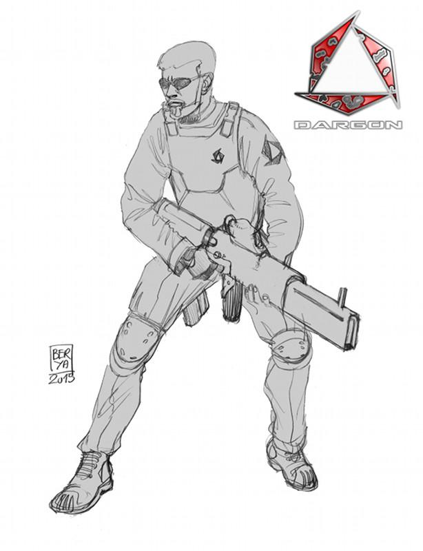 Dargon fusil lazer blog def